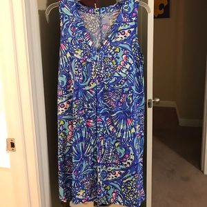 Lilly Pulitzer Amina Dress in Brilliant Blue
