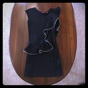 Ted Baker funky black shift dress
