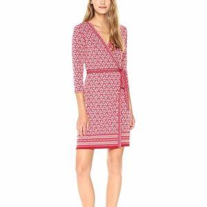 NEW Max Studio 3/4 Sleeve Jersey Wrap Dress