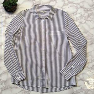Madewell Cafe Striped Boy Shirt