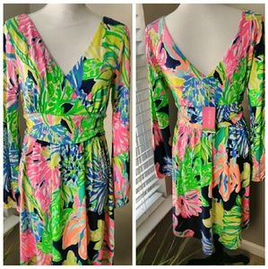 Lilly  Pulitzer Fleur Dress NWT Large