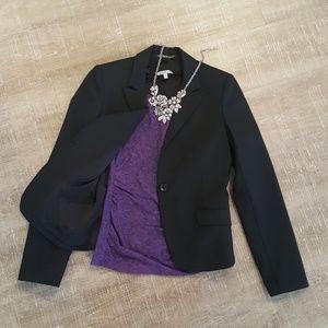 Express Black Suit Jacket