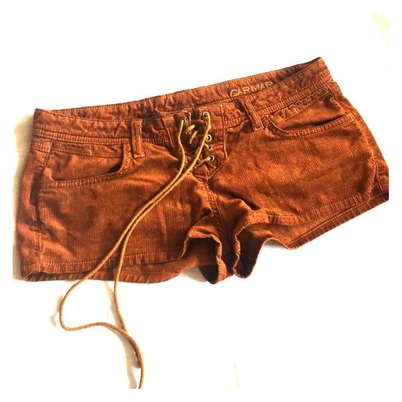 Carmar Pants - Brown Corduroy shorts