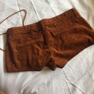 Carmar Shorts - Brown Corduroy shorts