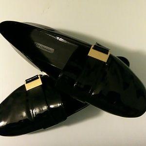 """ZARA ""TRAFALUC  Patent Loafer"