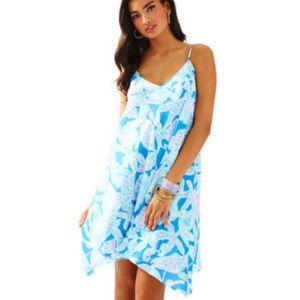 Blue Clara Swing Baby Blue Into The Deep Dress