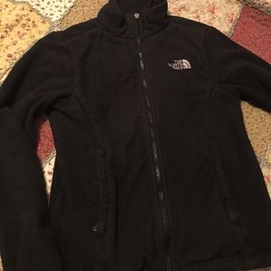 The North Face black jacket coat ladies small