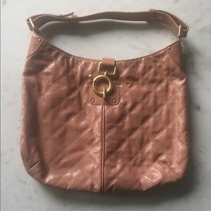 J Crew Quincy bag in pink patent leather