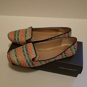 Vince Camuto Liliana Flat- Coral size 9