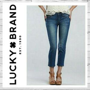 Lucky Brand Anti Lola Ankle Crop Jeans Sz 6/28