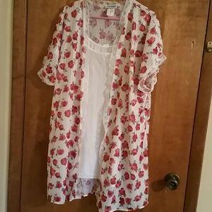 2 piece nighty camisole NWT