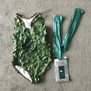 Other - Handmade Poison Ivy Bodysuit / Costume