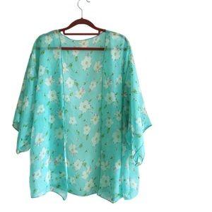 Tops - Floral Kimono- 2 Left!