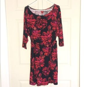 Black and Red full Sleeve Dresss