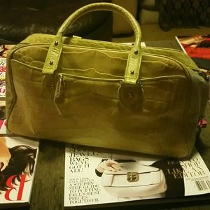 Green Cole Haan Boston Bag