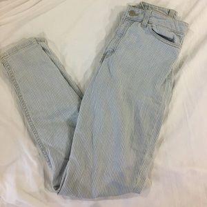 American Apparel Pinstripe Jeans