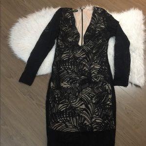 BEBE midi dress size XL