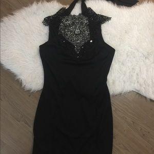 Arden b black mini dress