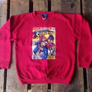 DC Comics Superman Crewneck Sweatshirt