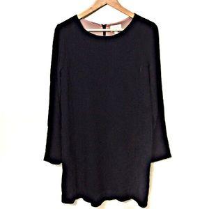 Everly Bobbles & Lace Long Sleeve Dress Medium