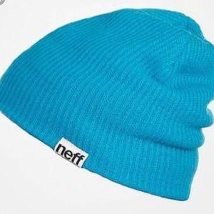 Blue Neff beanie