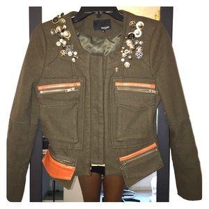Custom made military jacket