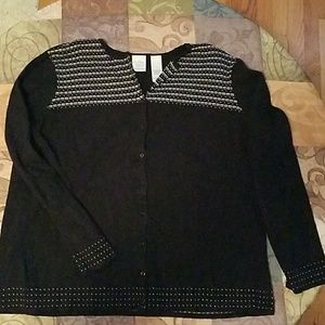 Beautiful Emma James cardigan sweater size 1X