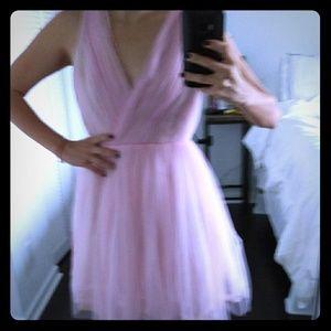 Pink Tull dress