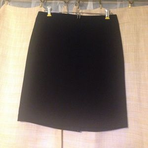 Black J. Crew Pencil Skirt with pockets!!