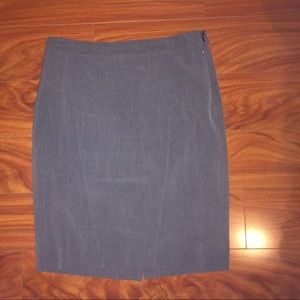 The Limited - Grey Pencil Skirt - size 6