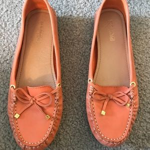 Sperry Top Sidet Leather slip instead size 8.5