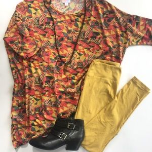 LuLaRoe Outfit- Perfect Fall Outfit NEW, 2 pc