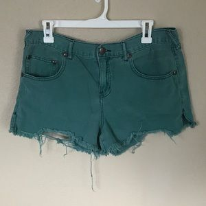 Teal Shorts ✨ Free People
