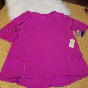 Tangerine Workout Top NWT Dark Pink/Orchid