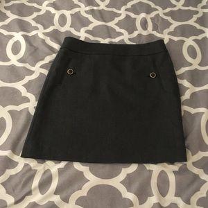 Dark grey loft skirt