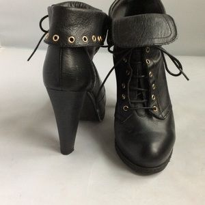 Zara black boots 38