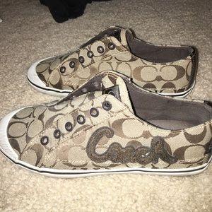 Women's coach shoes size 7