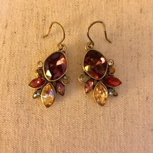 Chloe & Isabel Bouquet Rouge Drop Earrings