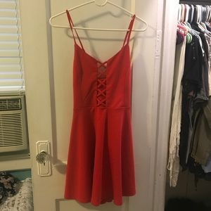 Forever 21 Red Dress size large