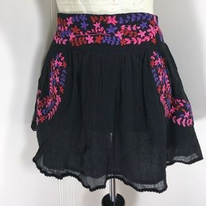 All Items 3for$15! Boho Peasant Mini Skirt