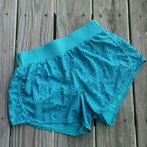 Reebok blue play dry athletic shorts