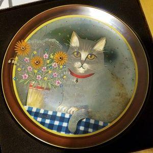 Anna Perrenna porceline plate