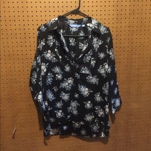 Simply Vera by Vera Wang long sleeve blouse
