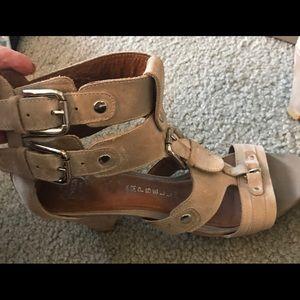 Jeffrey Campbell Gladiator Sandals Size 9.5
