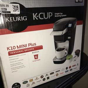 Keurig 10 Mini Plus