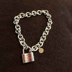 Tiffany and co locket bracelet sterling silver 925