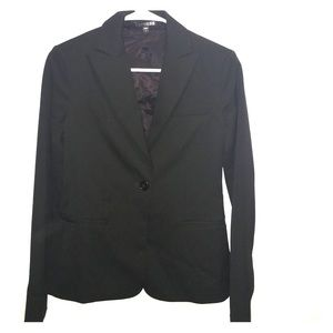 Express black suit separate