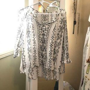 Ann Taylor Loft tunic top