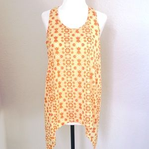 Charming Charlie Yellow Tank