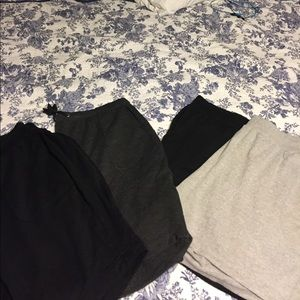 4 New pairs of workout/ comfy shorts!  All 3X